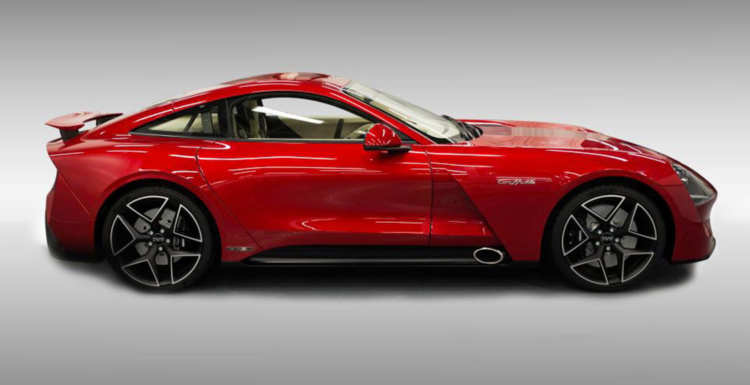 tvr car club 2017 tvr griffith le launch edition tvr car club. Black Bedroom Furniture Sets. Home Design Ideas
