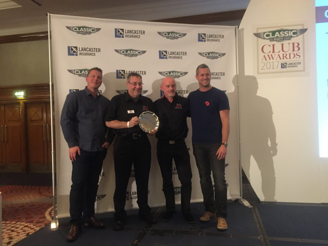 TVR Car Club - winners of Club of the year 2017