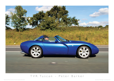 TVR Car Club Photo Competition winner Tuscan