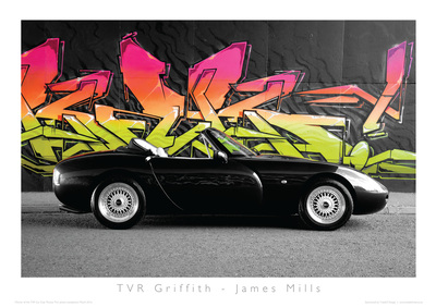 TVR Car Club Photo Competition winner griffith