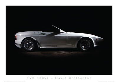 TVR Car Club Photo Competition winner 400SE