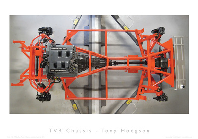 TVR Car Club Photo Competition winner chassis