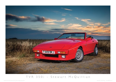 TVR Car Club Photo Competition winner wedge