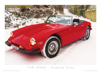 TVR Car Club Photo Competition winner 3000S
