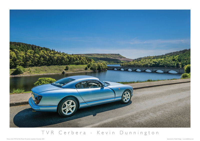 TVR Car Club Photo Competition winner Cerbera