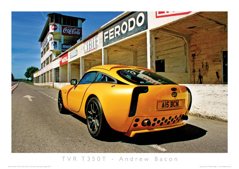 TVR Car Club Photo Competition winner T350T