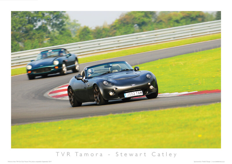 TVR Car Club Photo Competition winner Tamora