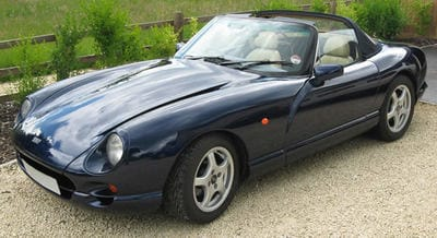 TVR Colour Aston Martin Mendip Blue