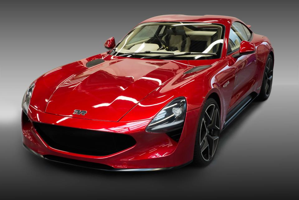 TVR new car Griffith LE 2017