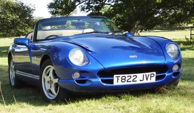 TVR Colour GTS Viper Blue