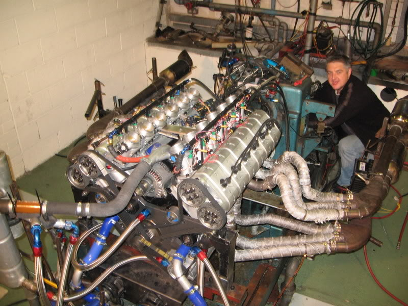 TVR Speed 12 engine