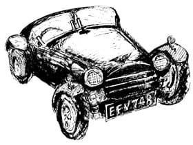 From this – Trevor's own sketch of TVR 1