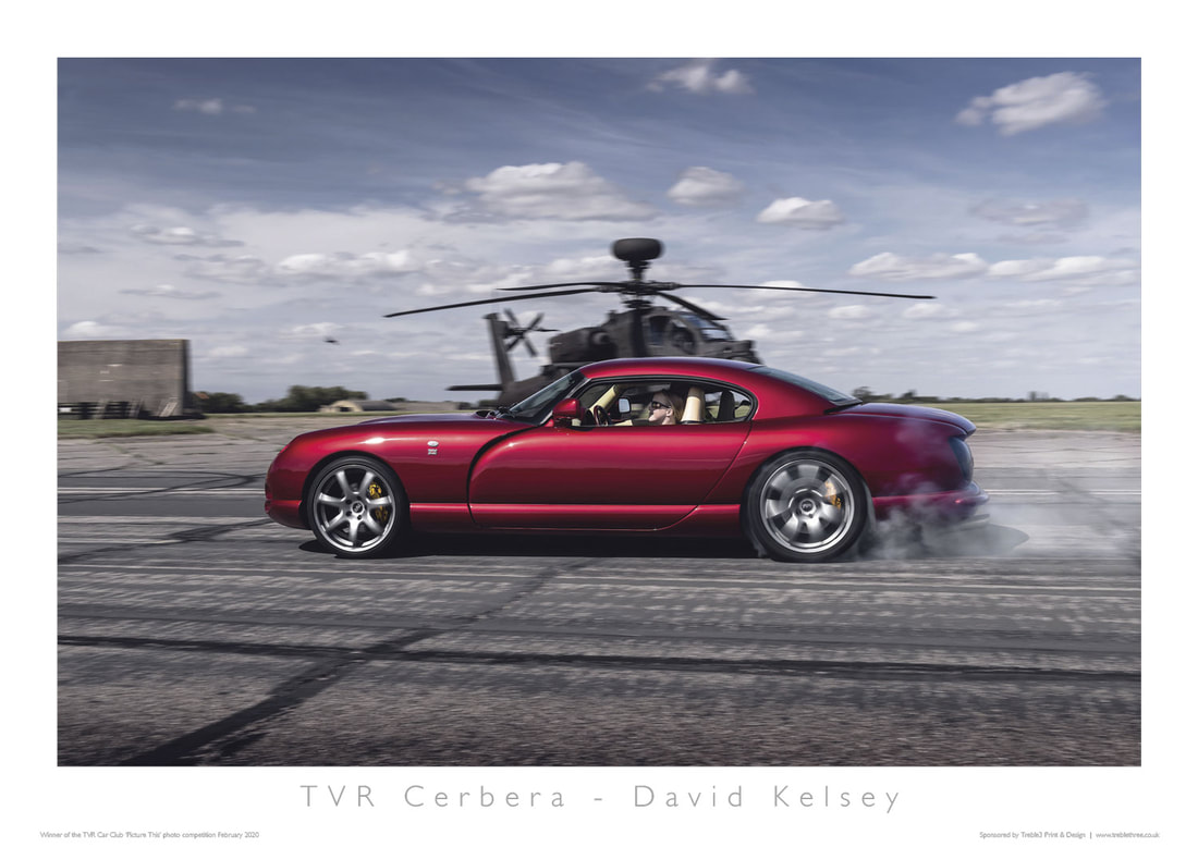 TVR Car Club Photo Competition Winner