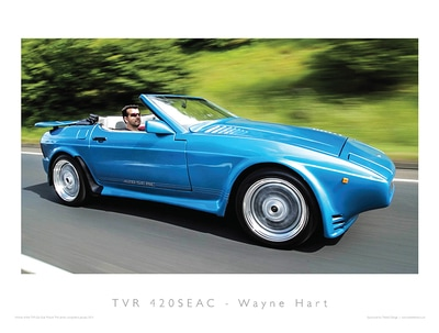 TVR Car Club Photo Competition winner 420SEAC